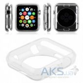 Вид 2 - iBest чехол для Apple Watch 38mm TPU Case Clear mat