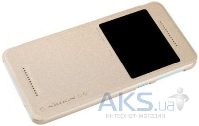 Чехол Nillkin Sparkle Leather Series HTC Desire 826 Gold