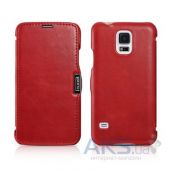 Чехол iCarer Side-open Vintage Samsung G900 Galaxy S5 Red