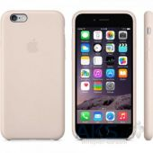 Вид 4 - Чехол Apple Leather Case for iPhone 6 Plus Soft Pink (MGQW2)