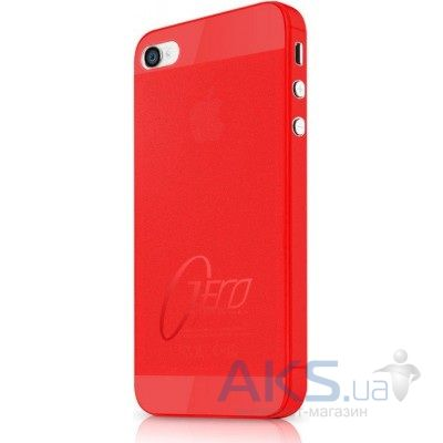 Чехол ITSkins ZERO.3 for iPhone 4/iPhone 4S Red (AP4S-ZERO3-REDD)