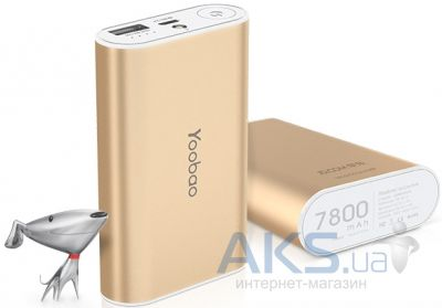 Внешний аккумулятор Yoobao Master Power Bank 7800mAh yb-m3 Gold