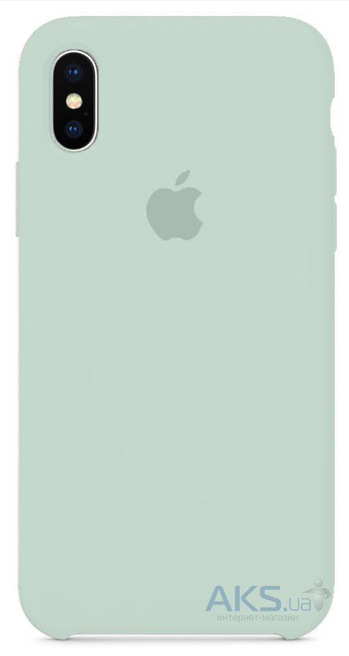 Чехол Apple Silicone Case iPhone X Turquoise_HC