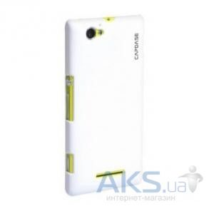 Чехол Capdase Karapace Jacket Touch White Sony Xperia M C1905 (KPSYC1905-T102)