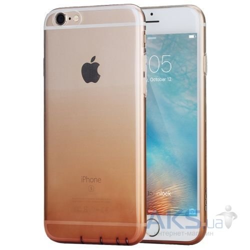 Чехол Rock Iris Series Apple iPhone 6, iPhone 6S Transparent Gold