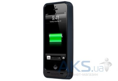 Внешний аккумулятор power bank Odoyo POWER+SHELL EX 2200 iPhone 5/5s Black