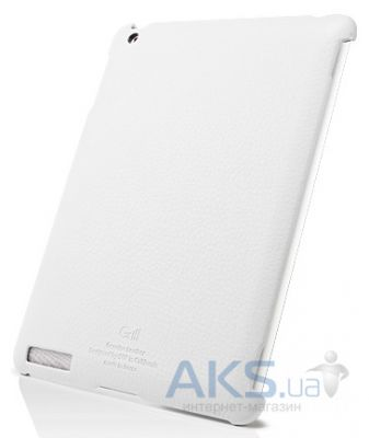 Чехол для планшета SGP Griff Series Sherbet Apple iPad 2, iPad 3, iPad 4 White (SGP07694)
