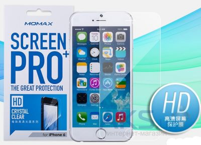 Защитная пленка Momax Screen Protector for Apple iPhone 6 Plus (Crystal Clear) (PCAPIP6L)