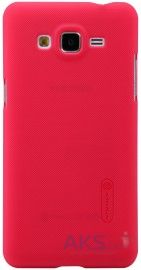 Чехол Nillkin Super Frosted Shield Samsung G530/Grand Prime Red
