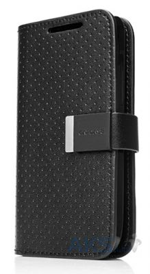 Чехол Capdase Folder Case Sider Polka Black/Black for HTC One V T320E (FCHCT320E-SP11)