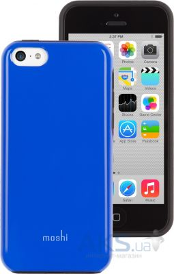 Чехол Moshi Hybrid Case iGlaze Remix Diablo Blue for iPhone 5C (99MO069511)