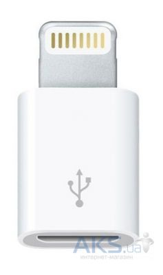 Apple Lightning to  Micro USB MD820ZM/A (MD820)