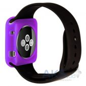 iBest чехол для Apple Watch 42mm TPU Case Purple