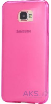 Чехол REMAX Ultra Thin Silicon Case Samsung A710 Galaxy A7 2016 Pink