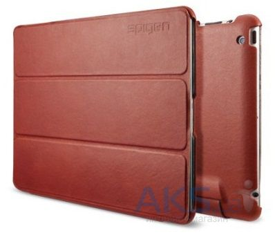 Чехол для планшета SGP Leather Case Leinwand Series Vegetable for iPad 4/iPad 3 Red (SGP09163)