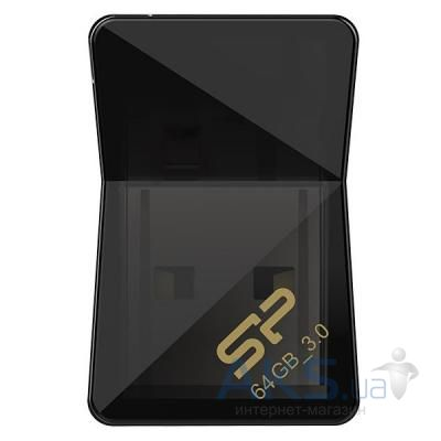 Флешка Silicon Power Jewel J08 64GB USB 3.0 Black
