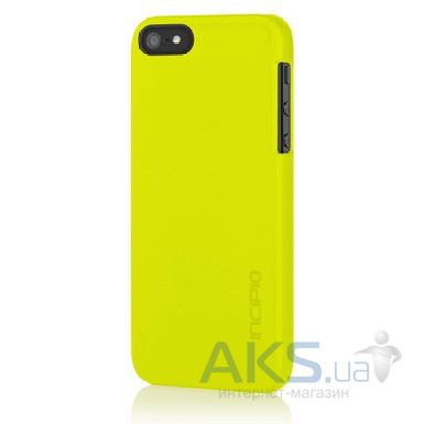 Чехол Incipio feather for iPhone 5/5s Lime Green