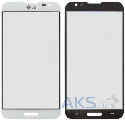 Стекло для LG Optimus G Pro E980, E988 Original White