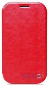 Чехол Hoco Crystal leather case for Samsung N7100 Galaxy Note II Red (HS-S016)