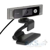 WEB-камера HP HD 3310 Webcam (A5F62AA) Black