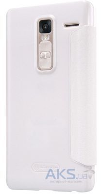 Чехол Nillkin Sparkle Leather Series LG H650E Class, H650 Zero White