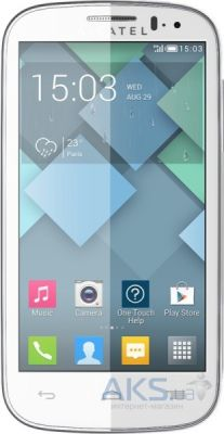 Сенсор (тачскрин) для Alcatel One Touch C5 5036D, One Touch C5 5036X Original White