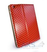 Вид 3 - Чехол для планшета Tuff-Luv Slim-Stand Leather Case Cover for iPad 2,3,4 Red: Polka-Hot (B10_35)