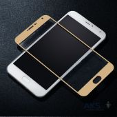 Вид 5 - Защитное стекло Tempered Glass 3D Full Cover Meizu Pro 6 Gold