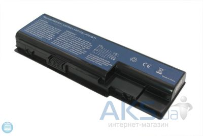 Акумулятор для ноутбука Acer AC5920 TravelMate 7730 / 11.1V 4400mAh / 5520-3S2P-4400 Elements Pro Black