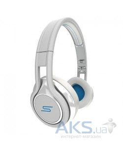 Наушники (гарнитура) SMS-Audio STREET by 50 Wired On-Ear White (SMS-ONWD-WHT)