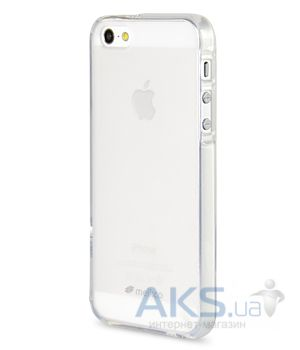 Чехол Melkco Poly Jacket TPU case for iPhone 5/5S Transparent