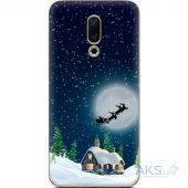Чехол 1TOUCH Silicone Print Christmas Series Meizu 16 (35176-up2275)