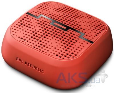 Колонки акустические Sol Republic PUNK wireless speaker FLUORO RED