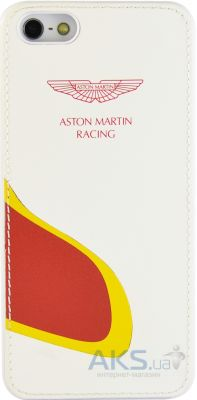 Чехол Aston Martin Racing back case for iPhone 5C with car mouth White / Red