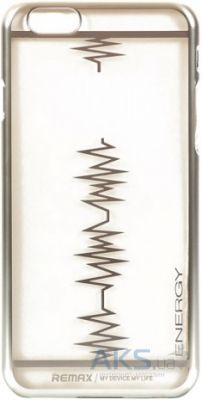 Чехол REMAX Heartbeat Series Apple iPhone 6, iPhone 6S Silver