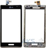 Сенсор (тачскрин) для LG Optimus L9 P760, Optimus L9 P765, Optimus L9 P768 With Frame Original Black