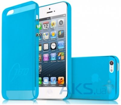 Чехол ITSkins Zero.3 cover case for iPhone 5/5S Blue (APH5-ZERO3-BLUE)