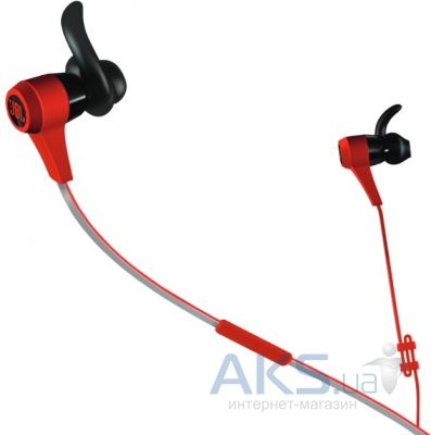 Наушники (гарнитура) JBL In-Ear Headphone Synchros Reflect BT Sport Red (JBLREFLECTBTRED)