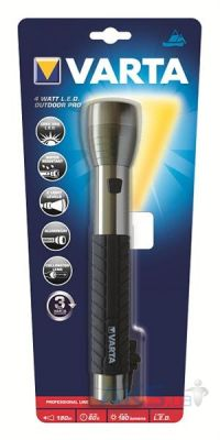 Фонарик Varta Outdoor Pro LED 3C Grey