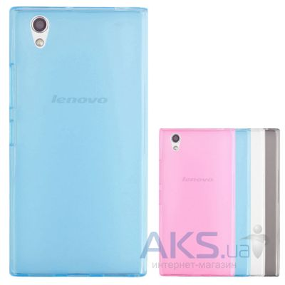 Чехол Remax Ultra Thin TPU Lenovo P70 Blue