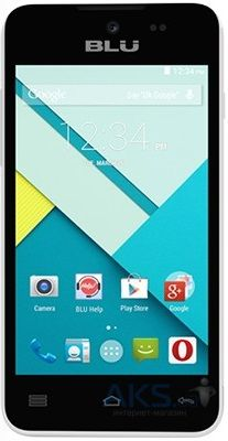 Сенсор (тачскрин) для BLU Advance 4.0L A010U Original White