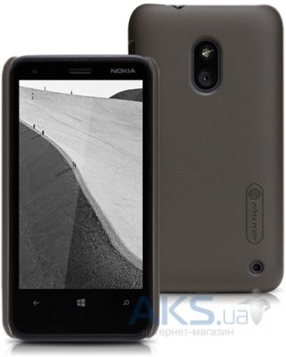 Чехол Nillkin Super Frosted Shield Nokia Lumia 620 Brown