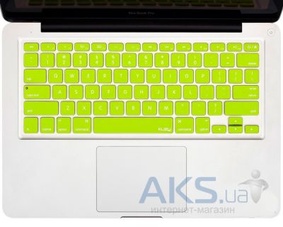 "Накладка на клавиатуру Kuzy Silicone Keyboard Cover for 13"" 15"" 17"" Neon Yellow"