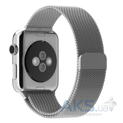 iBest Milanese Loop Band for Apple Watch 42mm Silver