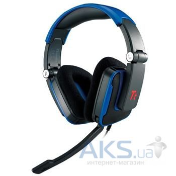 Наушники (гарнитура) Tt eSPORTS Shock Gaming (HT-SHK002ECRE) Blue