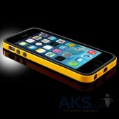 Вид 4 - Чехол SGP Case Neo Hybrid EX Slim Vivid Series for iPhone 5/5S Reventon Yellow (SGP10028)