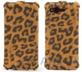 Чехол Nuoku Leopard Flip Series HTC Rhyme S510b Brown