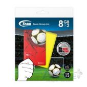 Вид 2 - Флешка Team 16GB (2x8GB) T141 Football Cards Red & Yellow USB 2 (TT1418GZ13)