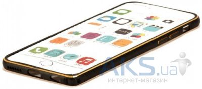Чехол Remax Metal Series Apple iPhone 6, iPhone 6S Black
