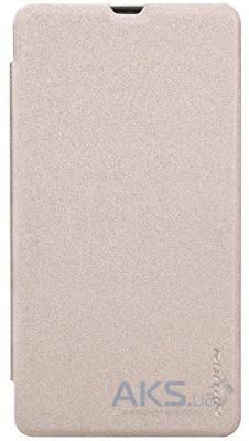 Чехол Nillkin Sparkle Leather Series Microsoft Lumia 535 Gold